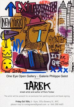Exposition Tarek à New York