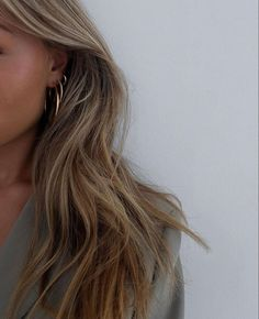 Hair Inspo, Hair Inspiration, Aesthetic Hair, Aesthetic Rings, Blonde Aesthetic, Brown Aesthetic, Aesthetic Pictures, Brown Blonde Hair, Grunge Hair