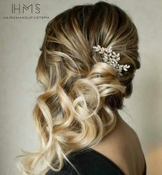Curly side style
