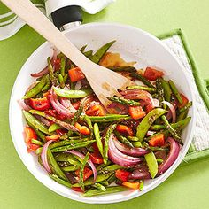 Why call for takeout Chinese food when you can wok and roll your way to this vegetable stir-fry in just five minutes? Bonus: You can control the sodium content and incorporate any vegetables you have...see more