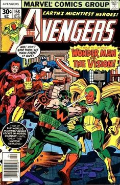 Avengers 158 - Jack Kirby