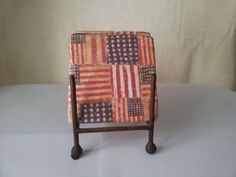 American Flag Tumbled Marble Tile Coasters by BaileyGirlCoasters, $15.00
