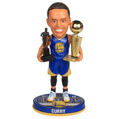 Golden State Warriors Stephen Curry Limited Edition Championship Bobblehead