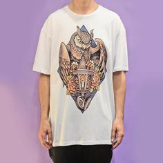 """96 Likes, 5 Comments - Sam Phillips (@samphillipsillustration) on Instagram: """"My owl lantern design is available on clothing at http://samphillips.printmighty.co.nz or…"""""""