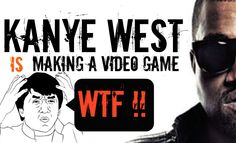 Kanye West Is Making A Video Game - WTF Trail Make A Video Game, Kanye West, Trail, Games, Videos, Youtube, How To Make, Toys, Game