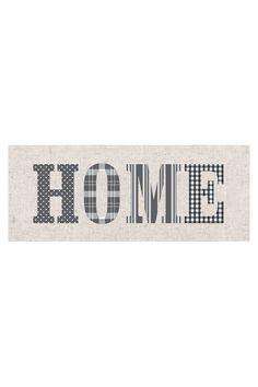 Vente Graham & Brown / 9763 / Tableaux / Toiles / Toile Home 100 x 40 cm - Beige & Gris