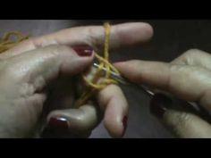 Gorro caramelo parte 1 (dos agujas) (hombre o mujer)