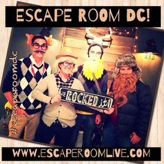 WASHINGTON DC'S REAL ESCAPE ROOM - Escape|Room|Live|DC - Home