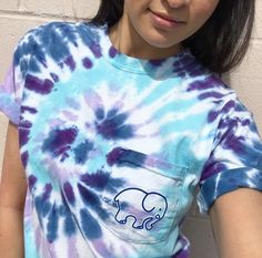 Check out our newest tie-dye tees. Super soft and comfortable, perfect to pair with denim shorts this Summer! - 100% Cotton - Hand dyed in America - Screen printed in America - Hand wash before wearin