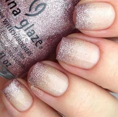 Ombre nails are everywhere these days. Ombre nails are eye-catching and personalized, and can be subtle as you want. I like a soft pastel ombre fade that is suitable for everyday use or glitter ombre nails for special occasions such as weddings. Glitter Gradient Nails, Gel Nails, Manicures, Blue Glitter, Shellac, Glitter Wedding Nails, Glitter Nail Tips, Gradiant Nails, Glitter Boots