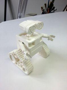 WALL-e ( cut into parts ) 3D Printing 76722