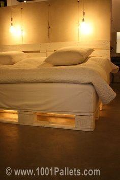 Pallet bed | 1001 Pallets