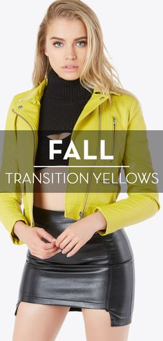 Fall transition yellows.