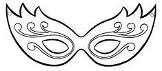 molde mascara carnaval - Pesquisa Google
