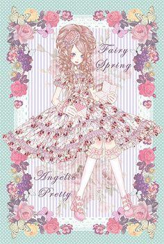 Angelic Pretty Fairy Spring Lolita Art