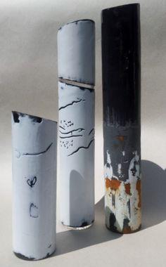 enamel, mark-making, steel, environment