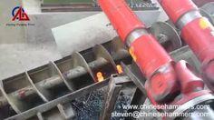 Steel Ball Skew Rolling Mill Machine - YouTube