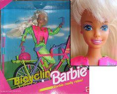 bicyclin barbie 1993 - Buscar con Google
