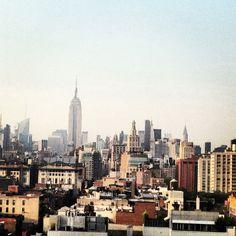 View from rooftop at 60 Thompson Street, New York, NY 10012 Nyc Skyline, City Vibe, Ny Ny, Concrete Jungle, Urban Life, My Dream Home, Rooftop, Lacoste, New York City