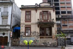 Old house in Sao Paulo at Carmo Street