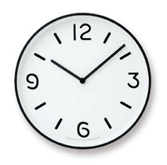 LEMNOS ( レムノス )掛け時計奈良雄一MONO Clock ホワイトAlm-LC10-20 A WH【楽ギフ_包装】【楽ギフ_のし宛書】【P10】【RCP】10P24Feb14【楽天市場】