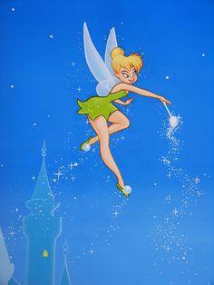 Peter Pan and Tinkerbell | Tinkerbell Tinker Bell Cinderella