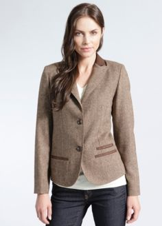 Ballyhoo Wool Blazer - Brooklyn Industries