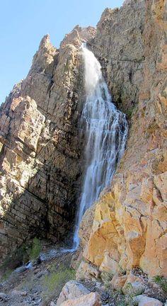 Malan's Falls, near Ogden.  3.2 miles, quite steep. Wet.