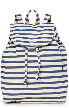 BAGGU Drawstring Backpack. Trendy backpack for tweens and teens.
