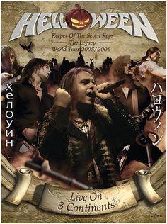 "L'album degli #Helloween intitolato ""Keeper Of The Seven Keys - The Legacy World Tour"" registrato a Sofia, Tokio e Sao Paulo."