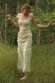 RESERVED for W A midsummer Nights dream, long fae skirt. $225.00, via Etsy.