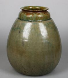 De Rijn Leiderdorp early art pottery vase