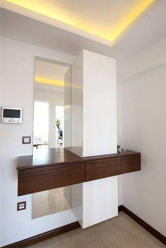 Bago mi̇marlik – i̇kiztepe konakları: tarz koridor ve hol, modern - - Expand Furniture, Wardrobe Furniture, Furniture Design, Home Interior Design, Interior Decorating, Dressing Table Design, Home Entrance Decor, Bedroom Cupboard Designs, Closet Designs