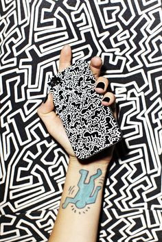 Keith Haring iPhone 4/4S Case