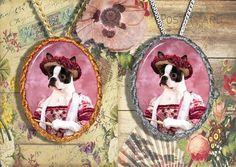 Boston Terrier Jewelry/Boston Terrier Pendant or Brooch/Boston Terrier Necklace/Dog Handmade Jewelry/Custom Dog Jewelry by Nobility Dogs  #DogLover #BostonTerrier #DogPendant #DogJewelry #DogBrooch #DogBreedsPin #DogBrooches #DogBreedsGift #DogCharm #PetLover