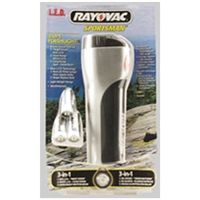 Rayovac SP3N1LED 3 in 1 LED Flashlight with 3 AA Alkaline Batteries www.BatteriesAndButter.com