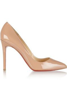 Pigalle 100 patent-leather pumps #shoes #covetme #christianlouboutin