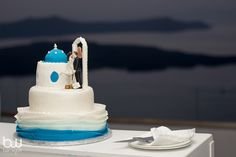 Layla and David's Luxury Private Estate wedding in Santorini by The Bridal Consultant