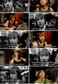 Rupert talks about Ron Weasley using the love potion in Half-Blood Prince. (2009)