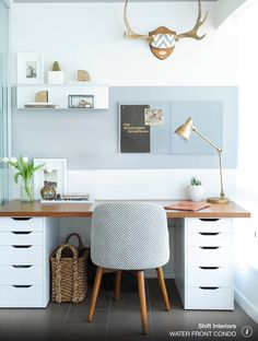 simple, clean, beautiful workspace