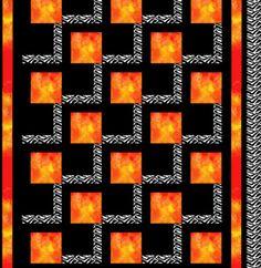 Quilt Patterns For Beginners | Elles Quilt Pattern | Fiberflies