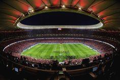 Vista panorámica del Wanda Metropolitano