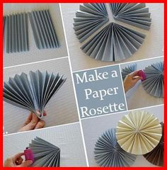 Diy Baby Shower Decorations, Paper Rosettes, Backdrops, Celebration, Neutral, Bulletin Board, Simple, Photos, Plank