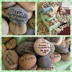 Day of Prayer Rock Activity (leading up to it)