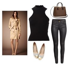 """""""Outfit Idea by Polyvore Remix"""" by polyvore-remix ❤ liked on Polyvore featuring мода, Burberry, Miss Dora, Versace и H&M"""