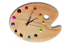 Color wheel - idea to combine with DIY Domino clock?