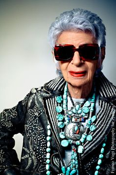 Iris Apfel's brand new bag? A shady partnership with eyebobs ...