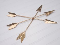 Gold Arrow Wall Hanging/Wall Decor/Bohemian
