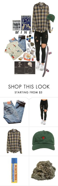 """""""347"""" by ohsol0vely ❤ liked on Polyvore featuring Levi's and The Hundreds"""