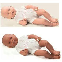 Bebê Anjo Reborn, da Anjo Brinquedos. Mede 40cm.